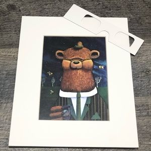 3D handpainted bear photo